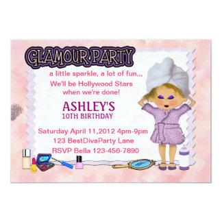 Glamour Party 13 Cm X 18 Cm Invitation Card