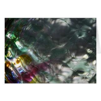 """""""Glass Ball 14"""" Card"""