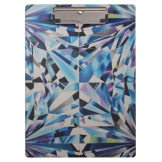 Glass Diamond Clipboard