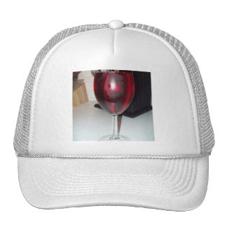 Glass of Red Wine Hat