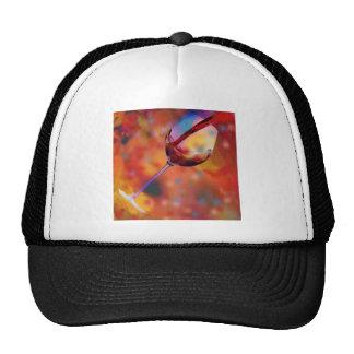 Glass of wine cap