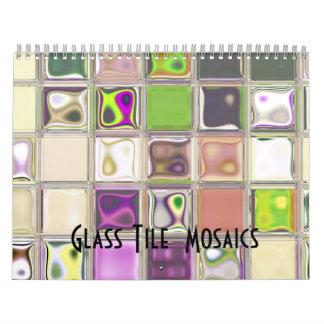 Glass Tile Mosaics customizable 2012 Calendar