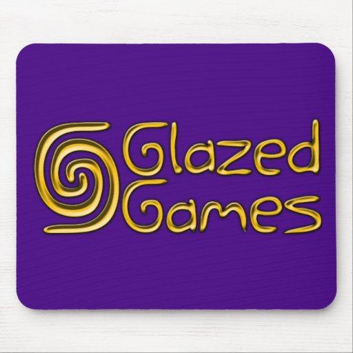 Glazed Games Mousepad - Purple