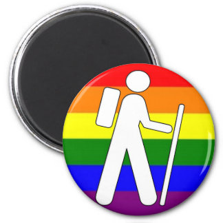 GLBT Pride Hiking Magnet