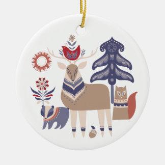 Gledelig Jul - Nordic Design Christmas Christmas Ornament