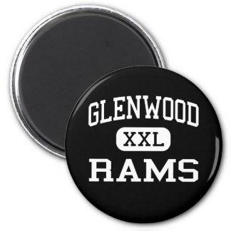 Glenwood - Rams - Senior - Glenwood Iowa 6 Cm Round Magnet