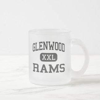 Glenwood - Rams - Senior - Glenwood Iowa Frosted Glass Mug