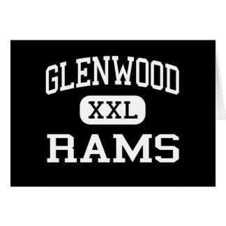 Glenwood - Rams - Senior - Glenwood Iowa Greeting Card