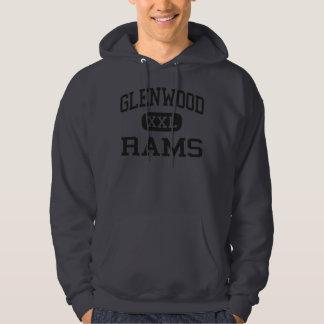 Glenwood - Rams - Senior - Glenwood Iowa Hooded Sweatshirts