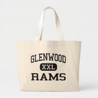 Glenwood - Rams - Senior - Glenwood Iowa Jumbo Tote Bag