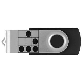 Glider Swivel USB 2.0 Flash Drive