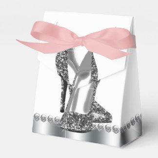 Glitter High Heel Shoe Birthday Favour Box