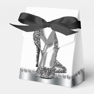 Glitter High Heel Shoe Favour Box