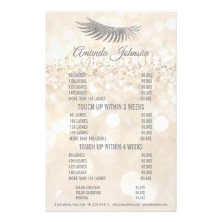 Glitter Lash Eyelash Extensions Cream Price List Flyer