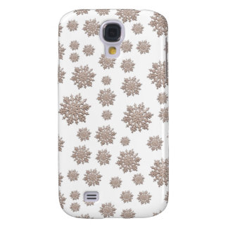 Glitter Snowflakes Galaxy S4 Case