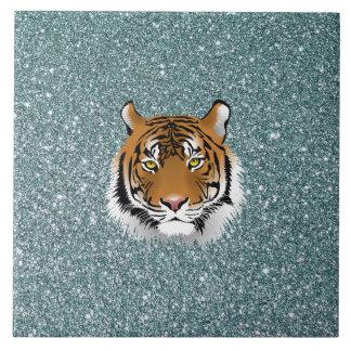 Glitter Tiger Tile