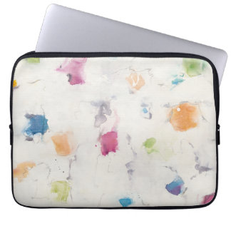 Glitterati I Abstract Print | Mike Schick Laptop Sleeve