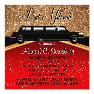 Glitz Glamor Red Carpet Movie Star Invitations