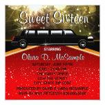Glitz Glamour Red Carpet Movie Star Invitations
