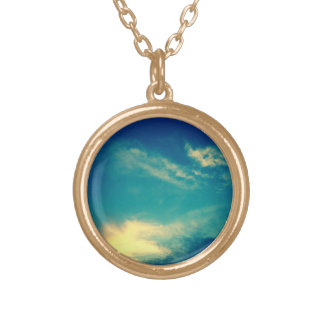 Gloaming Round Pendant Necklace