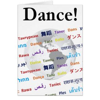 Global Dance - The Global Language (Customizable) Card
