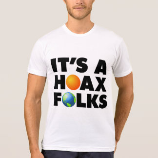 Global Warming Climate Change Hoax Earth Sun T-Shirt