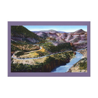 Globe Arizona Salt River Canyon Canvas Prints