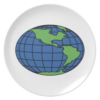 Globe Plate