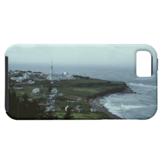 Gloomy seaside village iPhone 5 cases