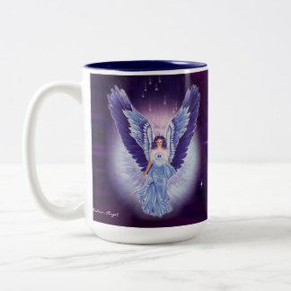 Glorious Blue Sapphire Angel Mug