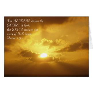 Glorious Sunset Card