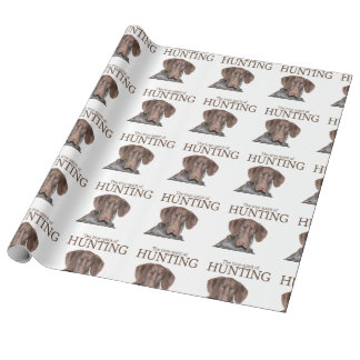 Glossy Grizzly true spirit of hunting Wrapping Paper