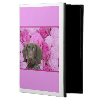 Glossy Grizzly Valentine's Puppy Love iPad Air Cover