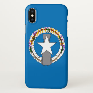 Glossy iPhone Case with Flag of Northern Mariana