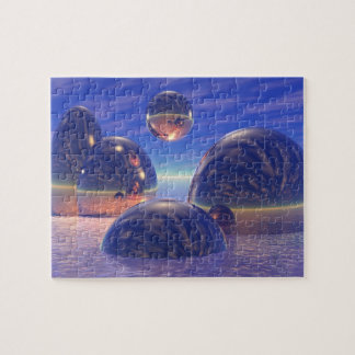 Glossy Spheres Jigsaw Puzzle
