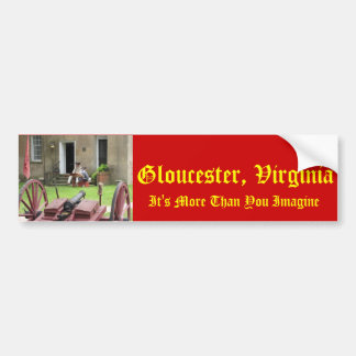 Gloucester, Virginia - It's More Than You Imagine Bumper Sticker