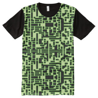 Glow Pixels All-Over Print T-Shirt