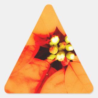 glow plant theme triangle sticker