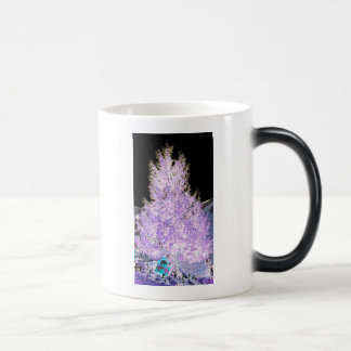 Glowing Christmas Tree themed Products Mugs