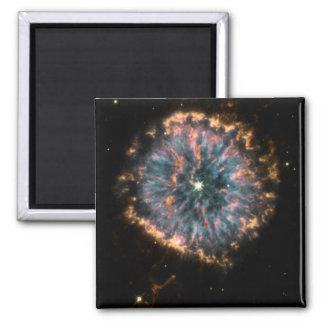 GLOWING EYE NEBULA (outer space design) ~ Fridge Magnets