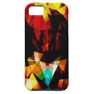 Glowing Geometric Abstract Case For The iPhone 5