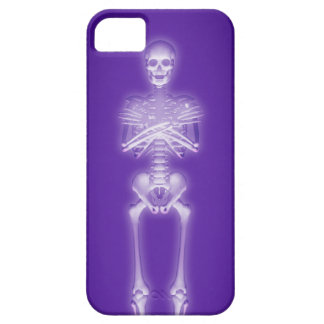 Glowing Skeleton: Barely There iPhone 5 Case
