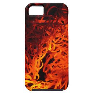 Glowing steel wool tough iPhone 5 case