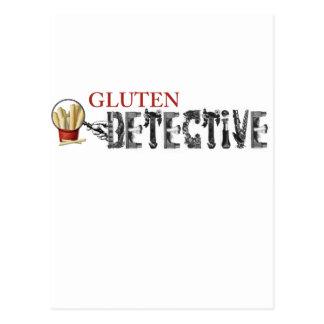 Gluten Detective Postcard