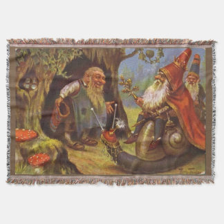Gnome King Cosy Throw Blanket