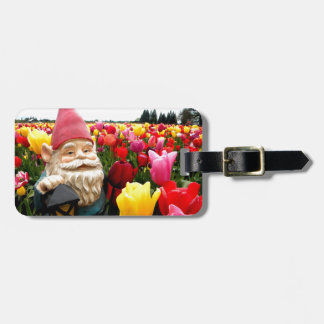 Gnome Petals Bag Tag