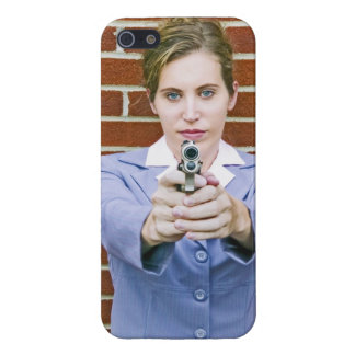 Go ahead, make my day! iPhone 5/5S cover