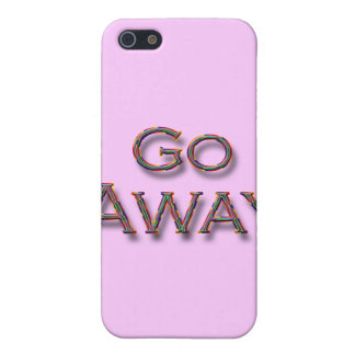 Go Away colrfl iPhone 5 Cases