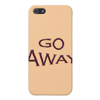 Go Away fsh iPhone 5 Covers