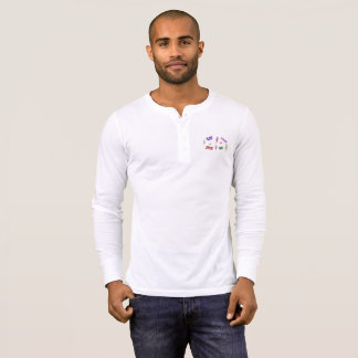 Go-Do-Be-Live Henley Long Sleeve Shirt